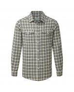 Kiwi Long-Sleeved Check Shirt Black Pepper