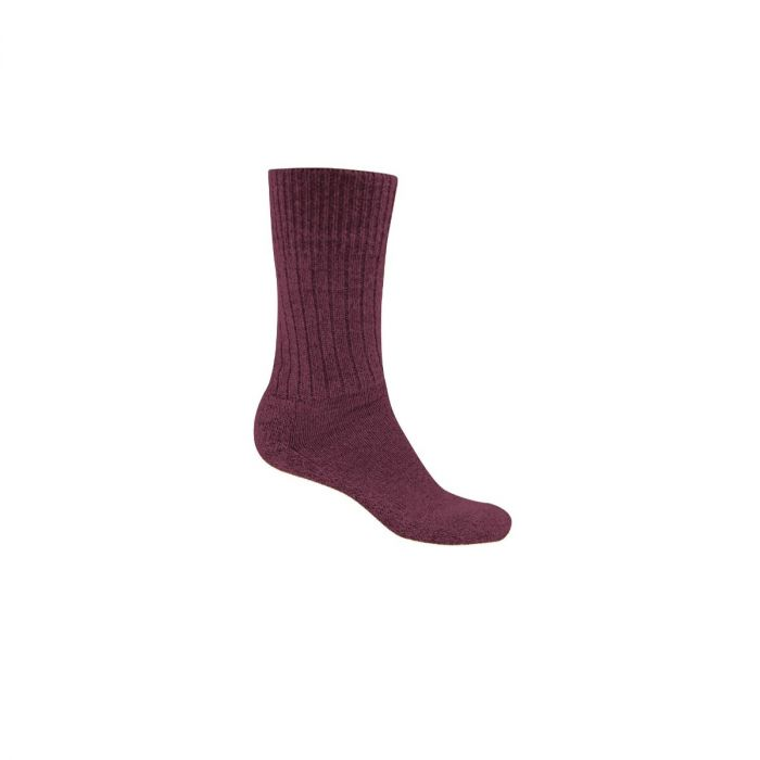 Womens Hiker Sock Rioja Red Marl
