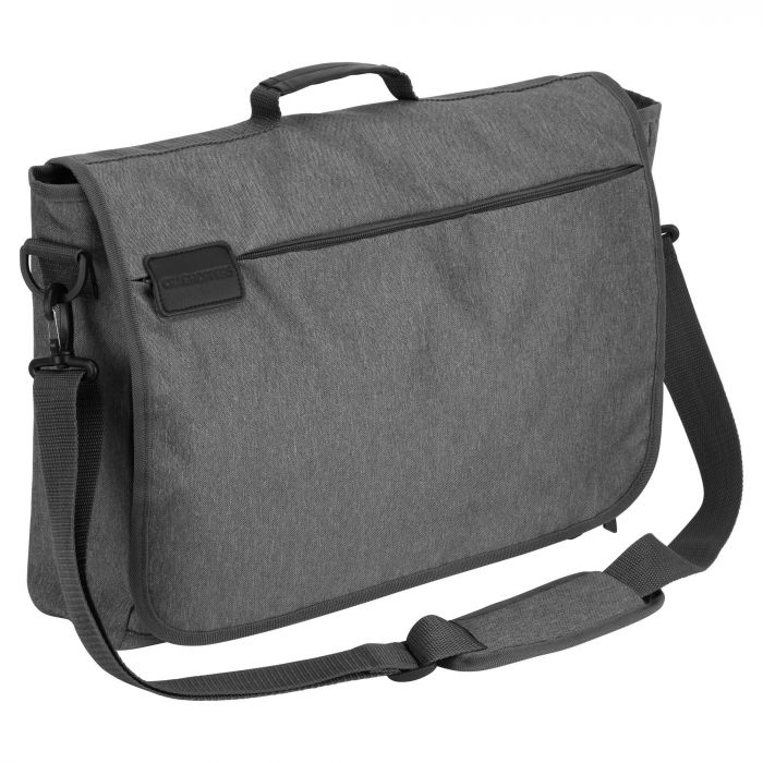 "17"" Commuter Lap Top Bag Quarry Grey"