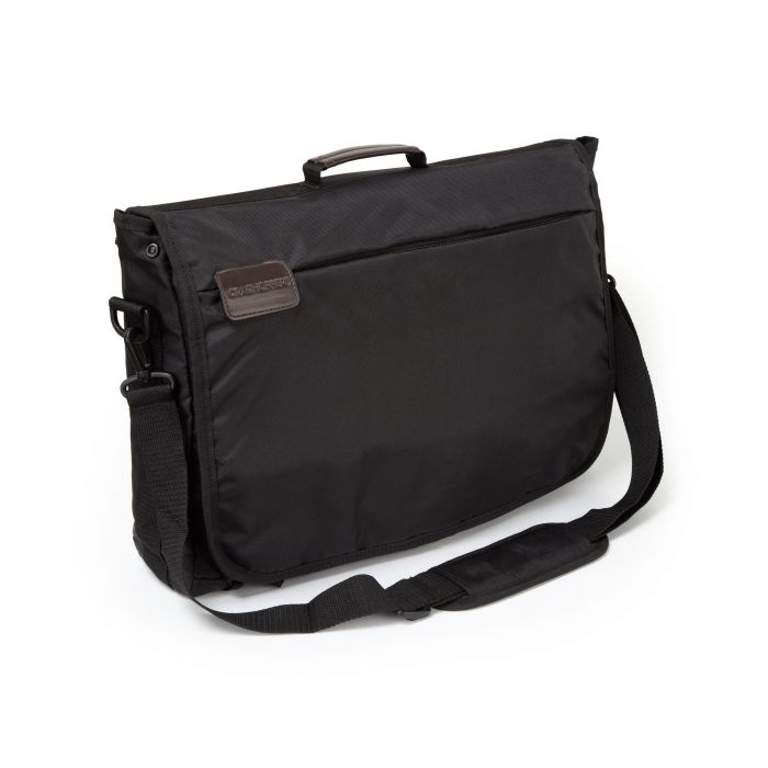 "17"" Commuter Lap Top Bag Black"
