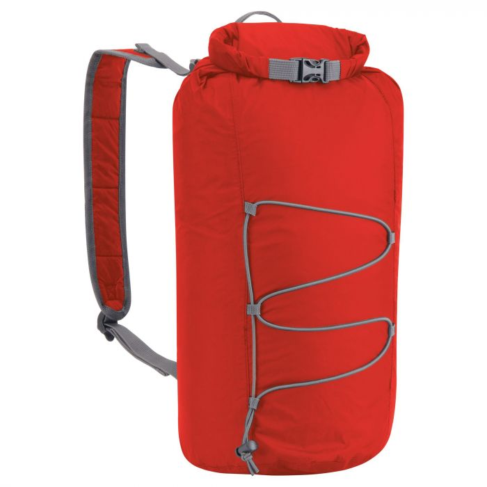 23 Liter Packaway Rucksack Dynamite Red / Quarry Grey