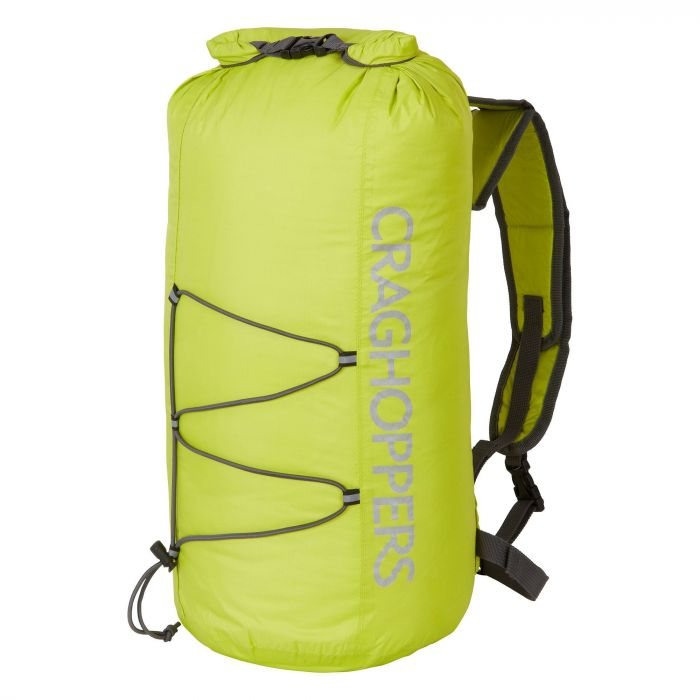 23 Liter Packaway Rucksack Spring Yellow / Quarry Grey