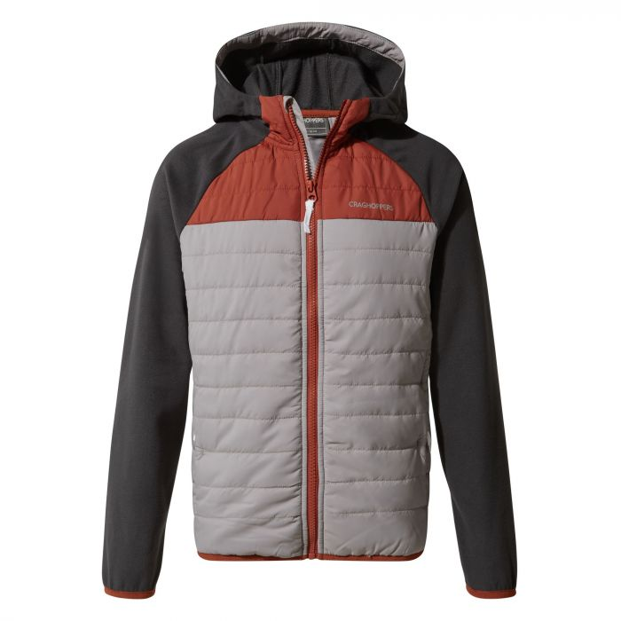 Avery Hybrid Jacket - Cement