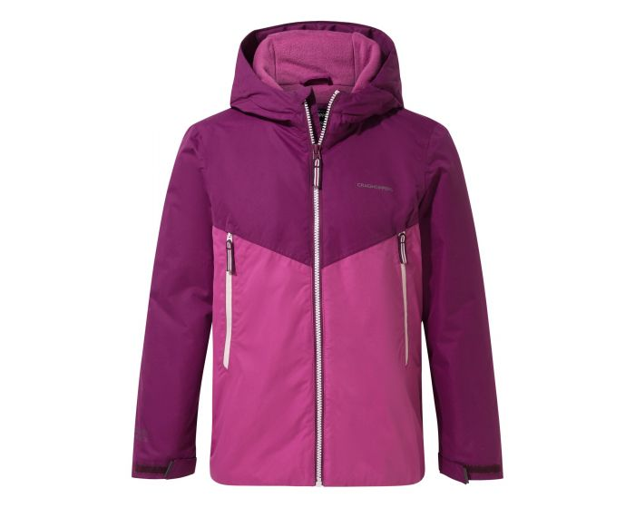 General Clothing Haider Jacket - Blackcurrant / Baton Rouge
