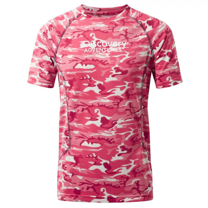 Discovery Adventures T-shirt Electric Pink Combo