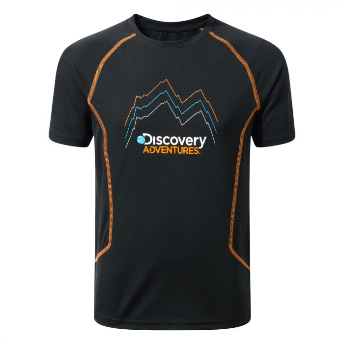 Kinder Discovery Adventures T-shirt Black