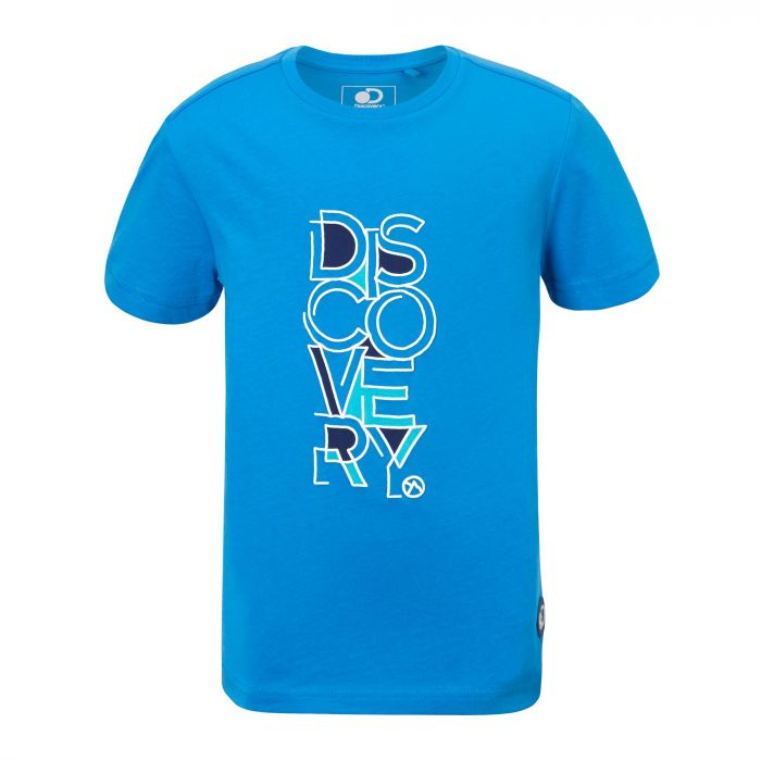 Discovery Adventures Short-Sleeved T-Shirt  Blue Turquoise