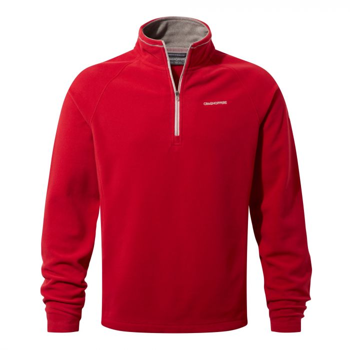 Selby Half-Zip Fleece Maple Red