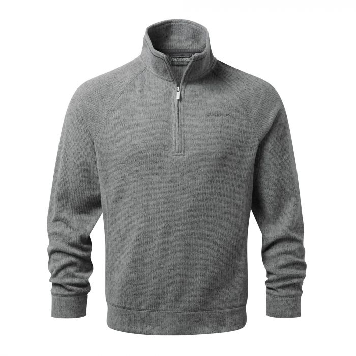 Norton Half-Zip Fleece - Quarry Grey Marl