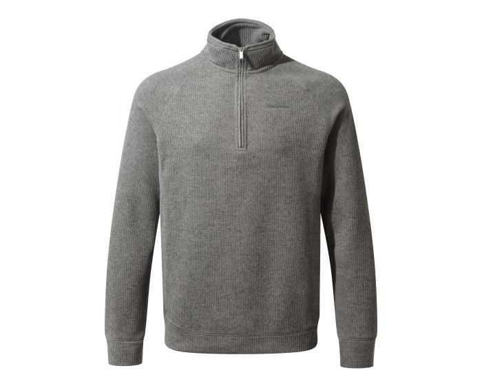 Men's Norton Half-Zip Fleece - Quarry Grey Marl