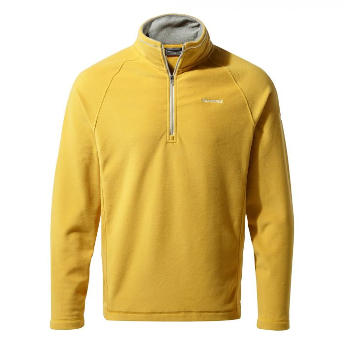 Corey V Half-Zip Fleece - Soft Gold