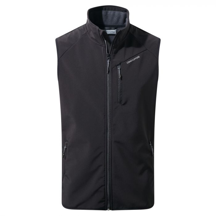 Baird Softshell Vest Black