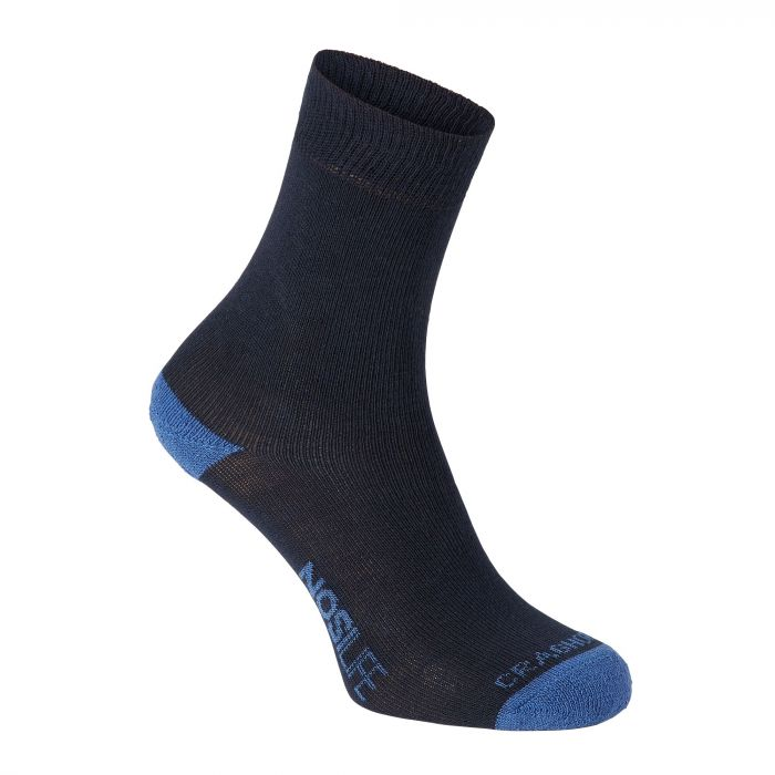 Twin Pack NosiLife Socken Dark Navy / Soft Denim Stripe