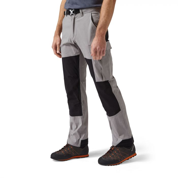 Kiwi Explorer Hose Quarry Grey / Black
