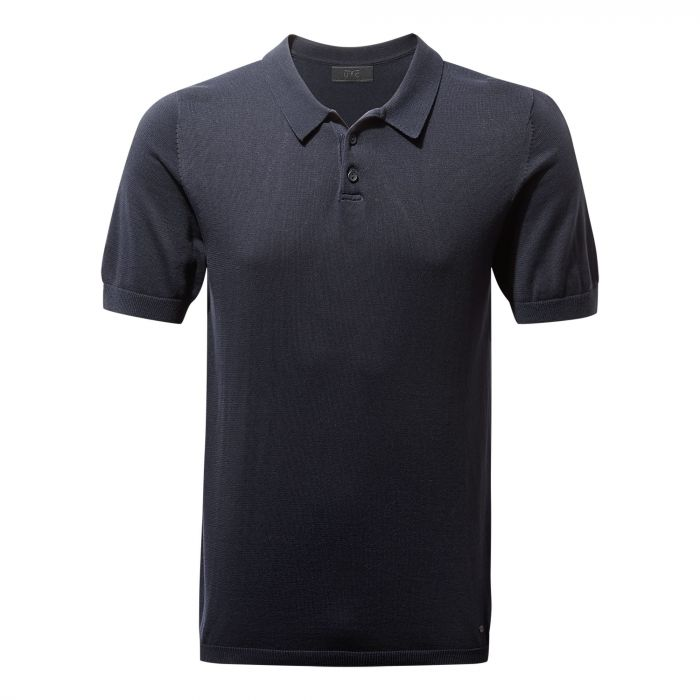 NosiLife Hudson Short-Sleeved Polo Midnight Blue