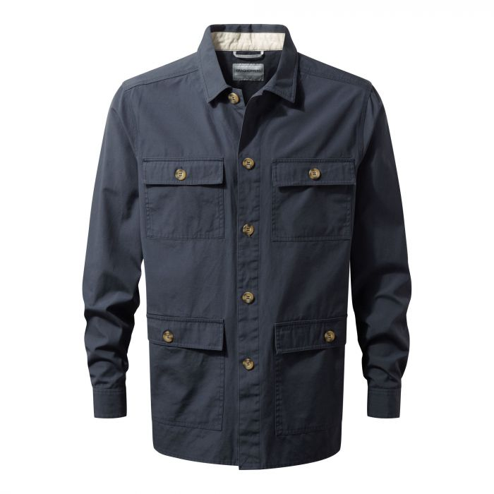 Bridport Shirt Jacket Ombre Blue
