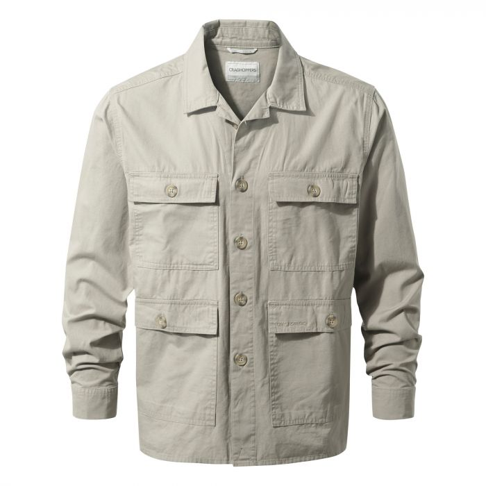 Bridport Shirt Jacket Sandstone