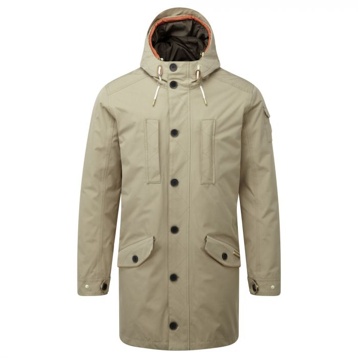 364 3 in 1 Hooded Jacket Camel Burnt Orange