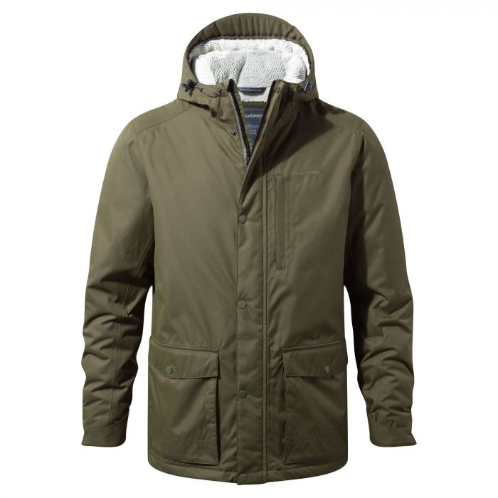 Kiwi Classic Thermic Jacket - Dark Moss / Black Pepper