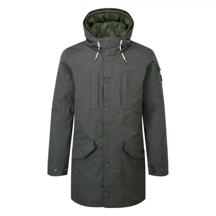 NAT GEO 364 3 IN 1 HOODED JACKET Dark Khaki