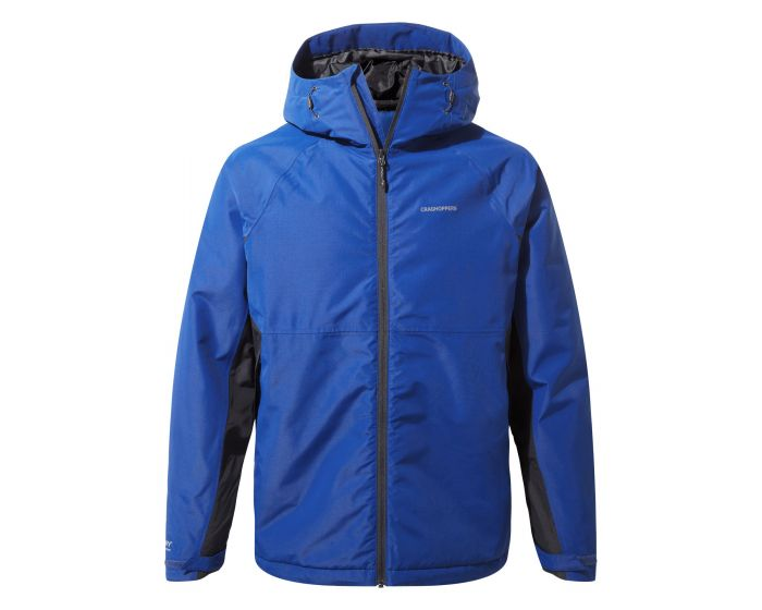 CRAGHOPPERS Kids CHILDRENS LIGHTWEIGHT WATERPROOF COAT Jacket Blue **RRP £40**