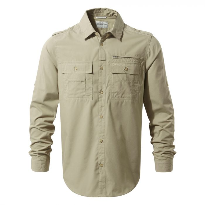 Adventure Trek Long-Sleeved Shirt Rubble