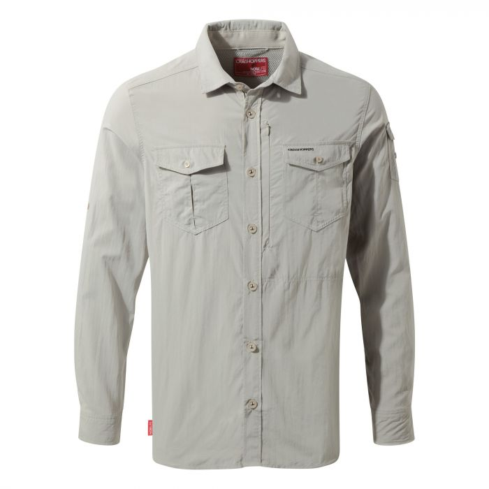 NosiLife Adventure Long-Sleeved Shirt - Parchment