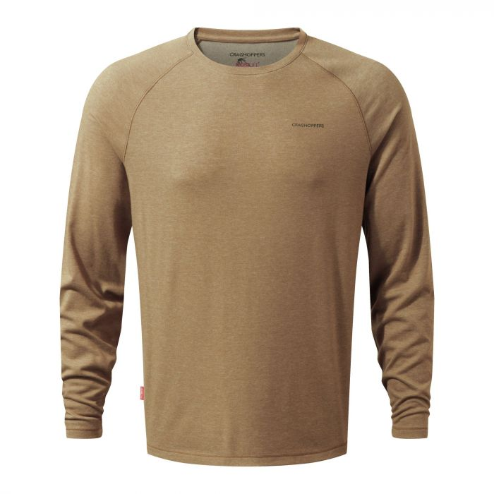 NosiLife Bayame Long-Sleeved Tee Kangaroo Marl