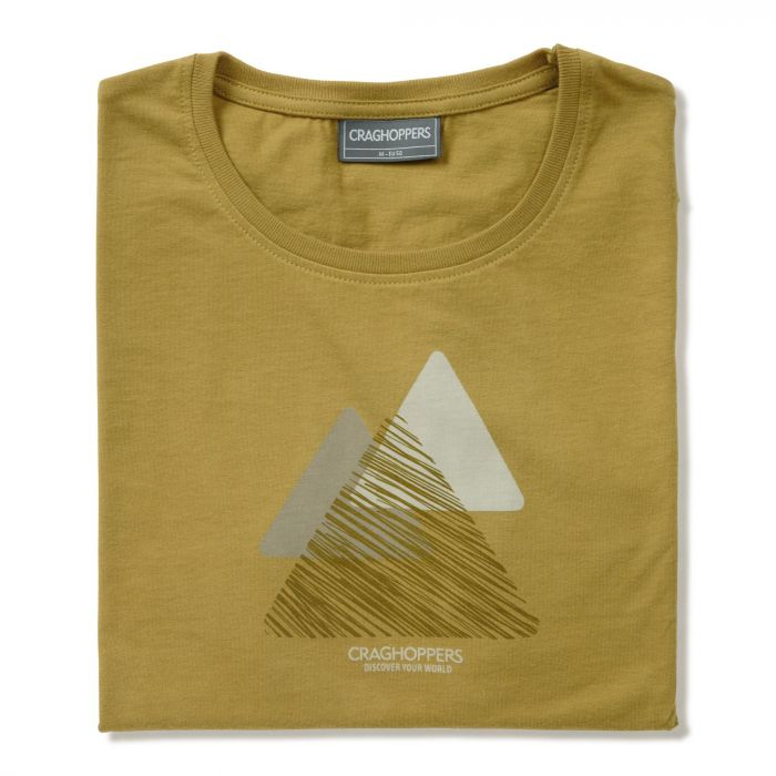 Eastlake Short-Sleeved Tee Levison Gold