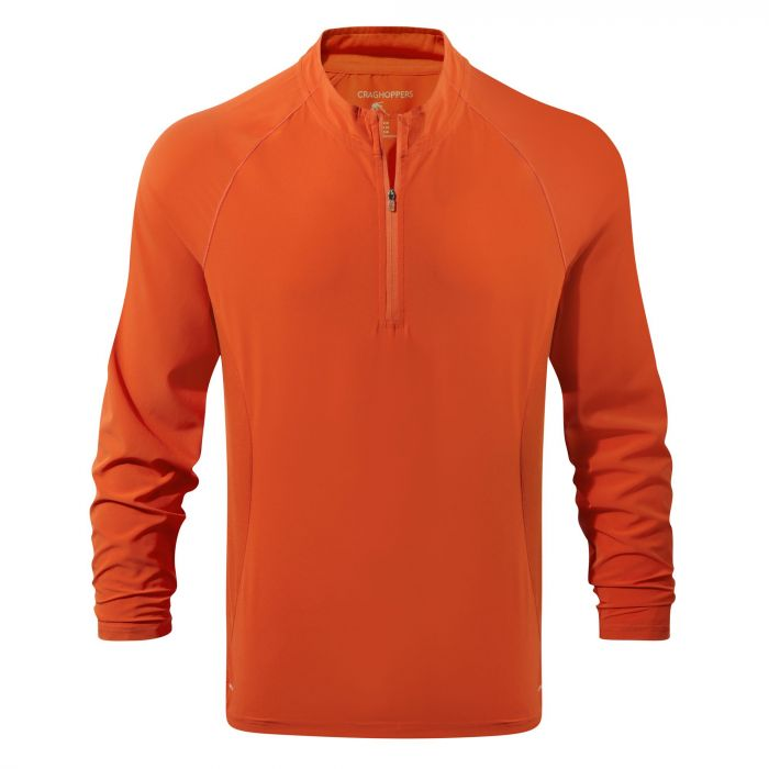 Insect Shield Active Long Sleeved Tee Spiced Orange