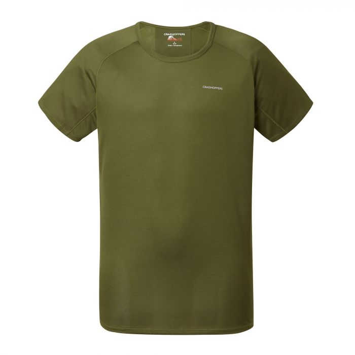 NosiLife Short-Sleeved Baselayer Tee Dark Moss