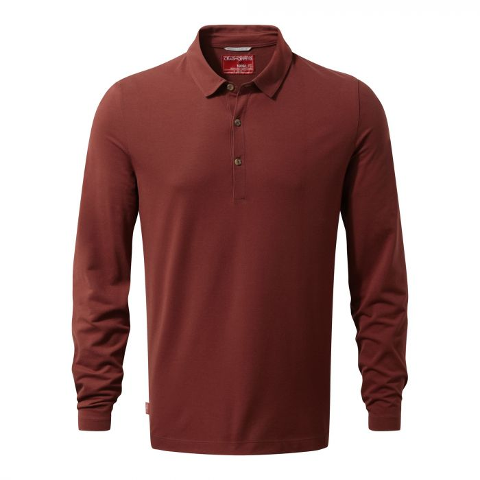 NosiLife Ellerbek Polo Red Earth