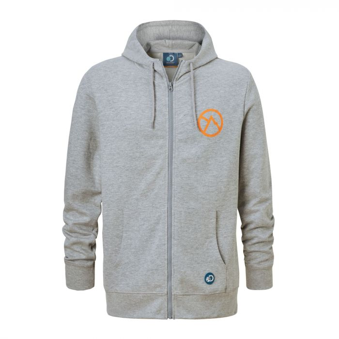 Discovery Adventures Hooded Jacket Quarry Grey Marl