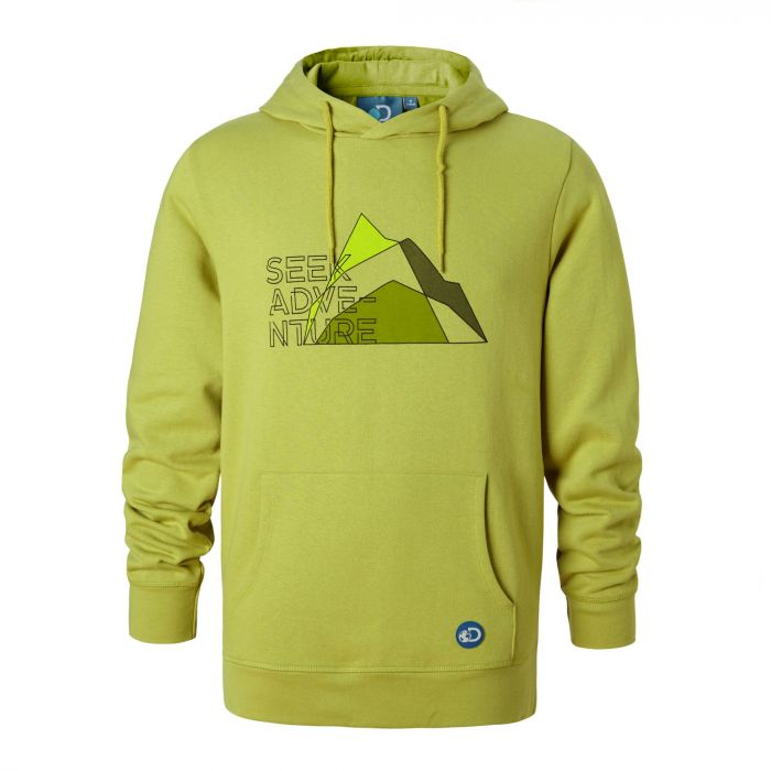 Herren Discovery Adventures Hoodie Spiced Lime