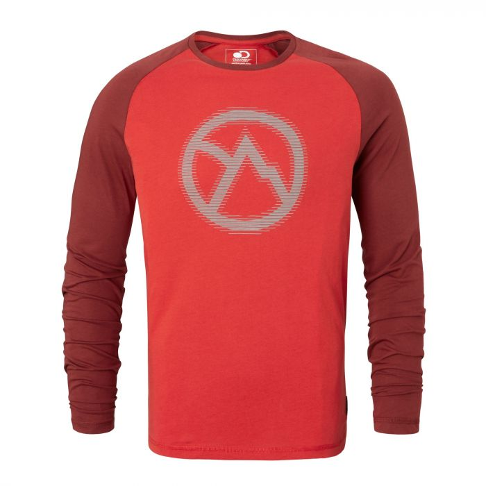 Discovery Adventures langarm Shirt Dynamite Red
