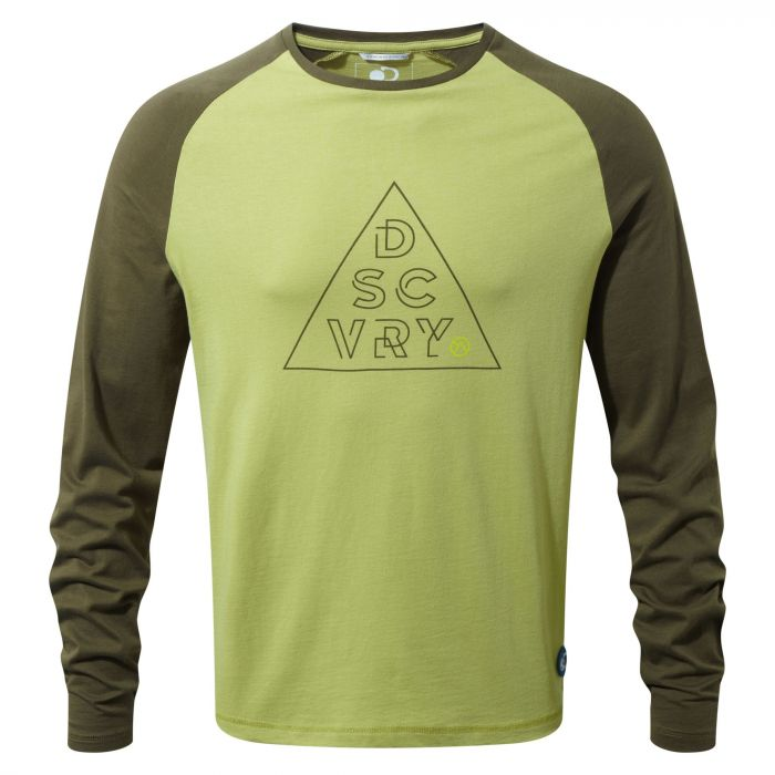 Discovery Adventures langarm Shirt Spiced Lime