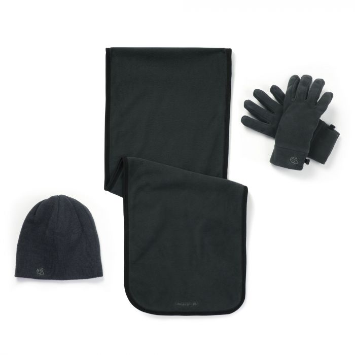 Essential Interactive II Fleece Set Black Pepper