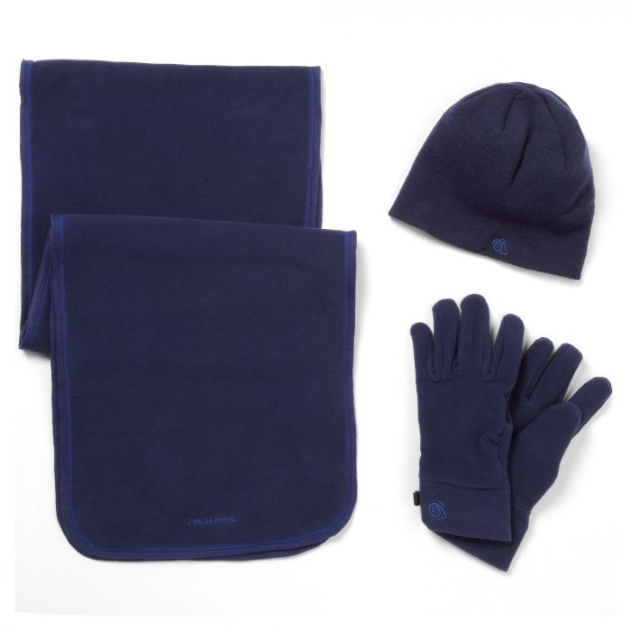 Essential Interactive II Fleece Set Night Blue