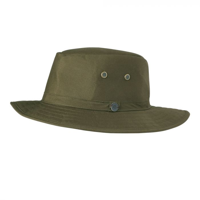Kiwi Ranger Hat - Dark Moss / Black Pepper