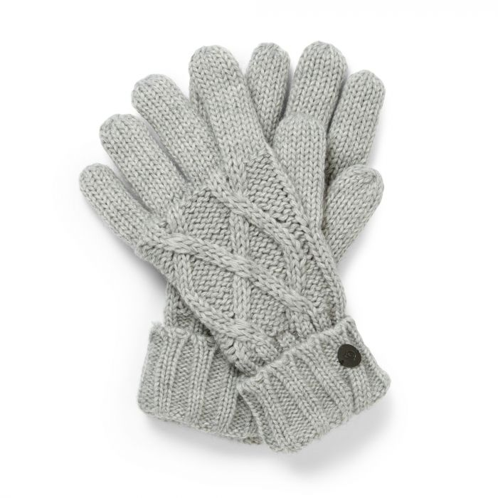 Unisex Dolan Gloves - Soft Grey Marl