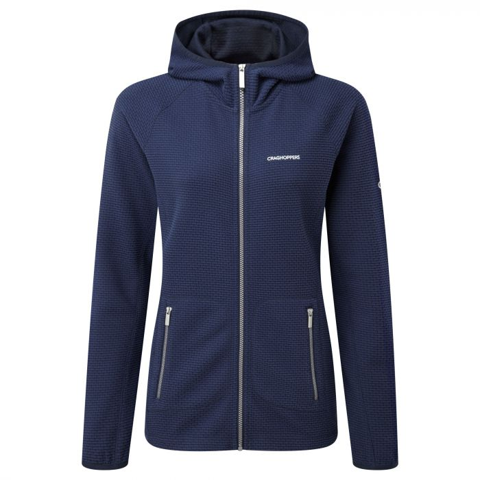 Hazelton Hood Jacke Night Blue