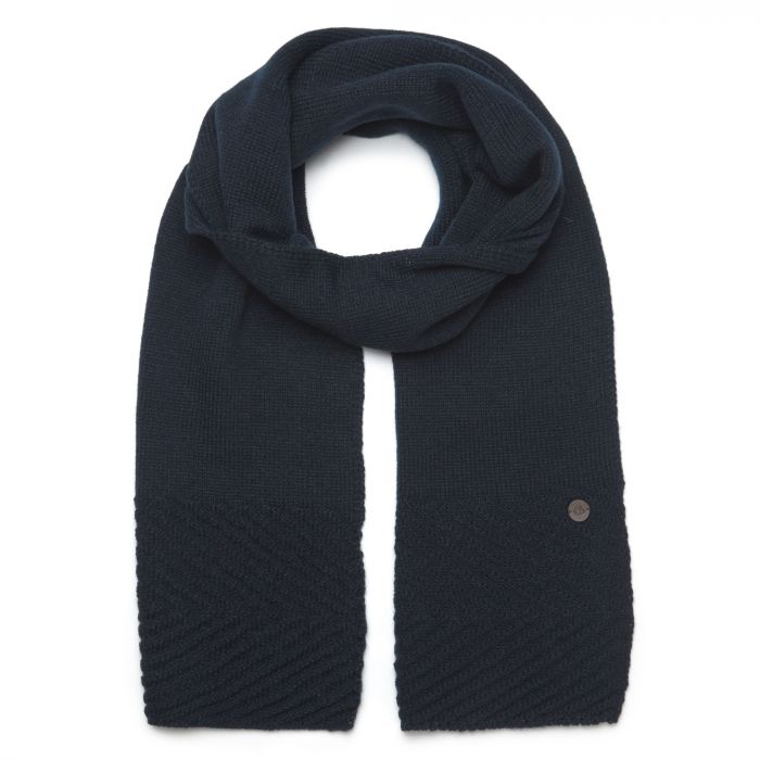 Maria Knit Scarf - Blue Navy