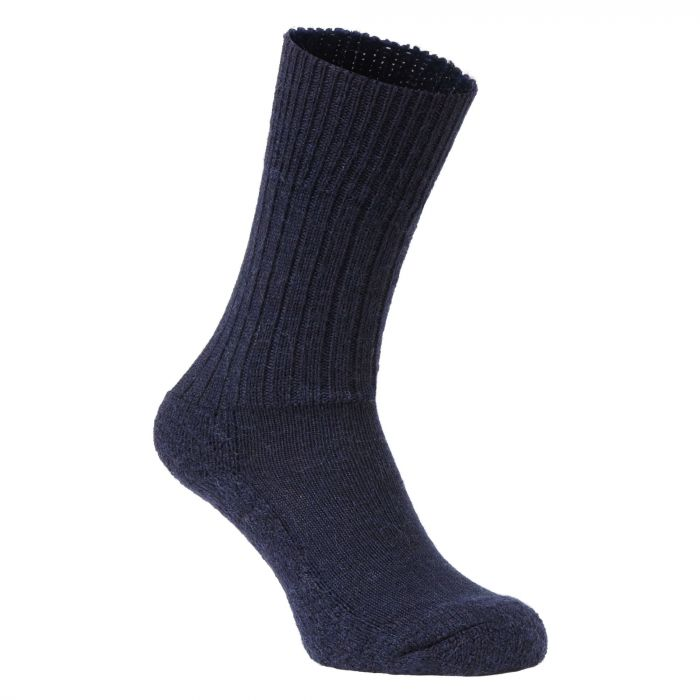 Wandersocken Dark Navy Marl