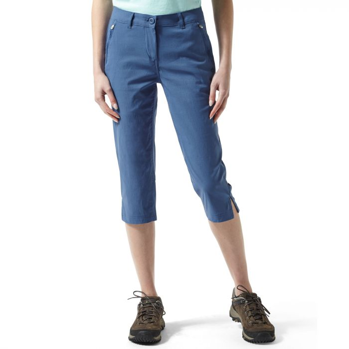 Kiwi Pro Stretch Crops II Soft Denim