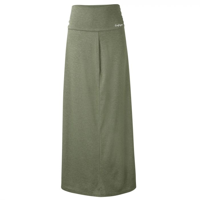Insect Shield Aurora Long Skirt Soft Moss Marl