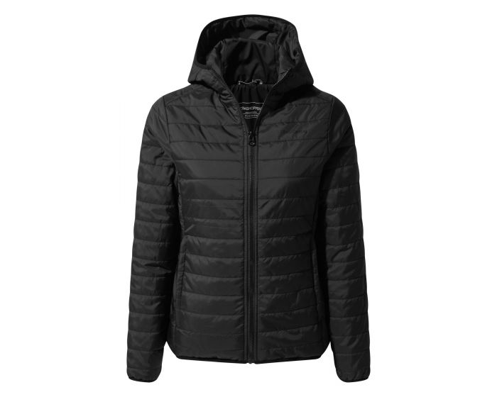 General Clothing Compresslite III Hooded Jacket - Black / Black