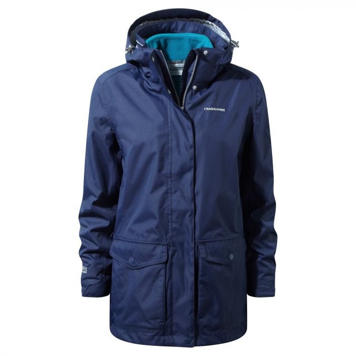 Madigan III 3 In 1 Jacket Night Blue / Forest Teal
