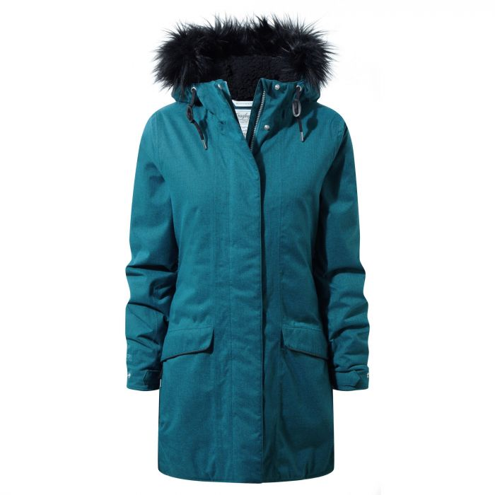 Damen Inga Jacket Forest Teal