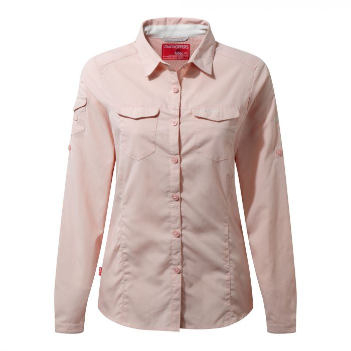 NosiLife Adventure Long-Sleeved Shirt Blossom Pink