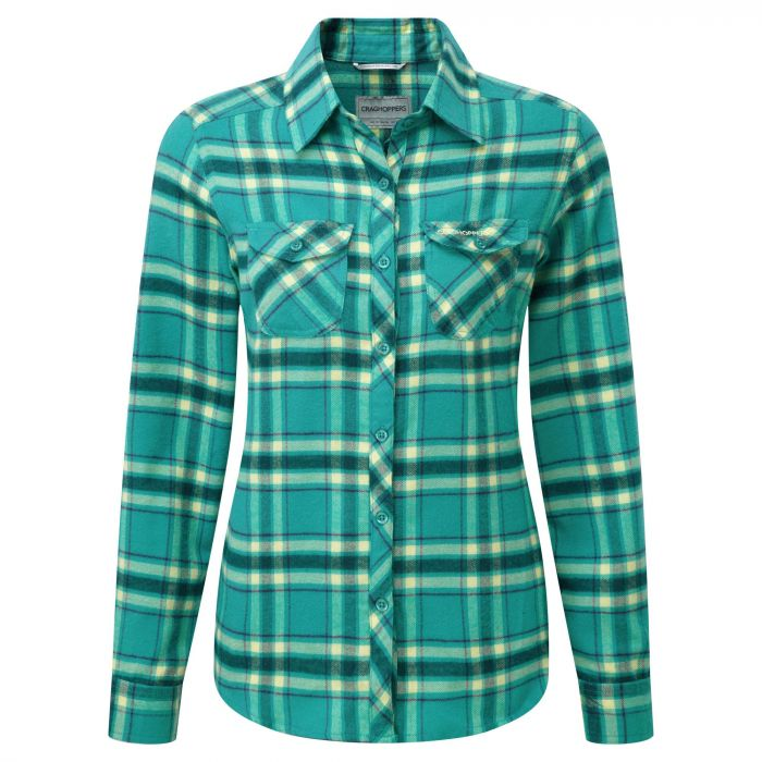 Valemont Bluse Bright Turquoise Combo